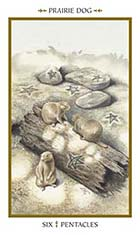 6 of Pentacles - Praire Dogs